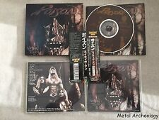 Poison - Native Tongue JAPAN BOX CD 1993 (TOCP-7585) + Special Note OBI