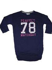 H & m fantástico Long camisa talla 170 azul oscuro!!!