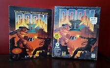 DOOM II id Software 1994 Computer Game FACTORY SEALED IBM PC RARE w/ Guide