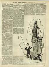 1891 The Trocadero Giantess Over 8 Feet High
