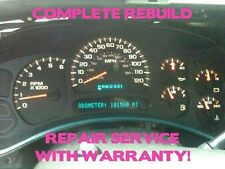 03-06 GM GMC Sierra Yukon Speedometer Gauge Cluster FULL REPAIR SERVICE 04 05