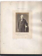 Photo ancienne 1860 - 1870 M le Baron de Reinach député Haut-Rhin Second Empire