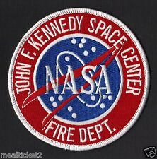 NASA  FIRE DEPT- JOHN KENNEDY SPACE CENTER - ORIGINAL SPACE PATCH MINT**