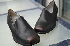 WALDLÄUFER Damen Comfort Schuhe Slipper Mokassins Leder m Einlagen Gr.5 G 38 NEU