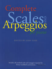 Complete Scales & Arpeggios for Piano Music Book Trinity Guildhall