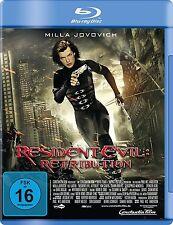 RESIDENT EVIL RETRIBUTION Milla Jovovich,Michelle Rodriguez  BLU-RAY NEU