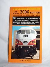 Official 2006 Vol 2 Edition Locomotive Rosters & News J Kerr railroad reference