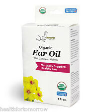 Wally's Natural Products Organic Ear Oil - 1 Fl Oz
