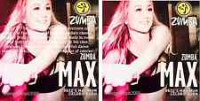 Zumba Fitness MAX DVD-Super High Energy Live Class w Beto -Maximum Calorie Burn!