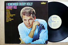 LP Bobby Vee - I Remember Buddy Holly - US Liberty Promo + Photo 2x Autograph