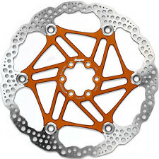 Hope 203mm 6 Bolt Floating Disc Rotor Orange - Brand New