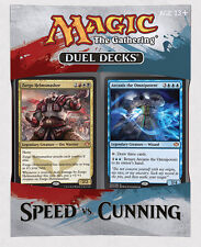 DUEL DECKS: Speed vs. Cunning MTG MAGIC English
