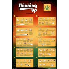 Skinning Up How to Roll a Joint Poster Art Print 24x36 R555321