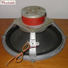 """vintage Wharfedale W90 Alnico 12½"""" lower mid and bass woofer—England, March 1963"""