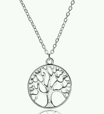 Tree of Life Sterling silver plated Necklace
