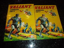 VALIANT - Year 1977 - UK Annual ( Price Tab intact )