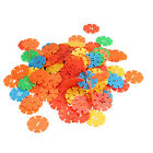 115 Pcs Kid Baby Educational Snowflake Toys Creative Building Blocks Multicolor