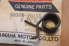 YAMAHA RD250  RD400  XS500  XS750  NOS R/H FRONT FOOTREST SPRING - # 90508-20155