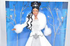 Holiday Visions BARBIE AA African doll 1st N series Winter fantasy Special ED 03