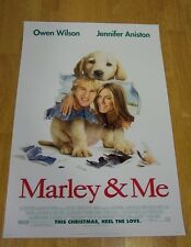 MARLEY & ME The Movie PROMO POSTER Jennifer Anistan NEW