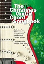 The Big Christmas Guitar Chord Songbook Learn to Play Xmas Lyrics Music Book HIT