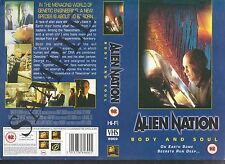 Alien Nation Body And Soul Video Promo Sample Sleeve/Cover #11199