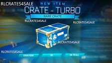 [Xbox One] 5 x Crate - Turbo [Rocket League] Turbo Crate *FAST DELIVERY!*