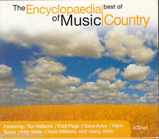THE ENCYCLOPAEDIA OF MUSIC / COUNTRY Best Of 3 CD Box Set - NEW