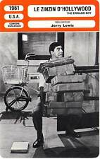 FICHE CINEMA : LE ZINZIN D'HOLLYWOOD - Gerry Lewis,B.Donlevy 1961 The Errand Boy