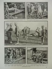 1916 BRITISH AND INDIAN WOUNDED RELEASED BY TURKS AFTER FALL OF KUT WWI WW1