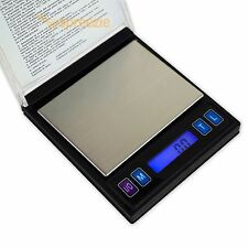 Mini CD Digital Pocket Scale Jewelry Case 500g x 0.1g Weigh Tare Calibration USA