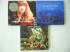 3 x Loreena Mc Kennit CD - Digipack - A Midwinter../An ancient Muse / Best of ..