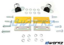 WHITELINE ANTI LIFT CASTOR KIT + POLY BUSHES FOR NISSAN MICRA & MARCH K11