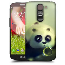 CUSTODIA COVER per LG G2 MINI D620 TPU BACK CASE PANDA IN ACQUA