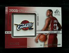 "LeBRON JAMES 2003-04 RC UD SP SIGNATURE EDITION ROOKIE #371/499 NON AUTO! ""L@@K"""