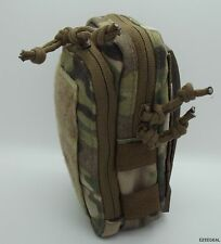 "MSM  Stealth Compact Pouch + TWO 5"" Malice Clips, Multicam, USA Made"