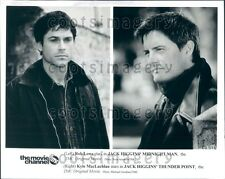 Handsome Actors Rob Lowe & Kyle MacLachlan Press Photo
