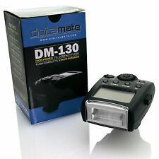 DigitalMate DM-130 High Power TTL Compact Speedlite Flash for Micro 4/3 Cameras