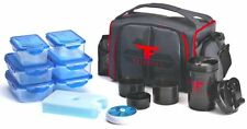 ThinkFit Portion Control Container Set Lunch Box, Red
