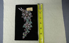 Rare Kirks Folly Double Flower Pin Brooch  (GNK)