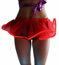 Women Light Up LED Tutu Dance Lighting Evening Club Party Ball Gown Mini Skirt