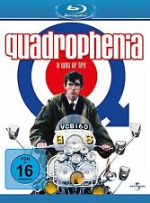 QUADROPHENIA Phil Daniels THE WHO Mods & Rocker Kultfilm STING BLU-RAY Neu BIKER