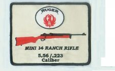 RUGER  MINI 14 RANCH RIFLE PATCH LARGE 3.5 TO 4 INCH FREE SHIPPING