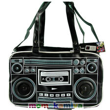 LIVING DEAD SOULS.JAWBREAKER SPEAKER MESSENGER BAG WORK ON IPHONE IPAD MP3 BLK.