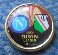 LEGIA WARSZAWA - NAPOLI  EUROPA LEAGUE 2015/16 FOOTBALL FUSSBALL PIN BADGE