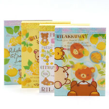 San-X Cute mini-size Rilakkuma cross memo [fresh lemon] (MM30601) 24C68
