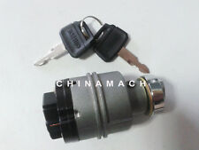 6 Plugs Ignition Switch With 2 Keys YN50S00026F1 for Kobelco Excavator SK-8