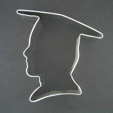 "GRADUATION BOY 4""  METAL COOKIE CUTTER FONDANT GRAD PARTY FAVORS NEW"