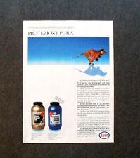 [GCG] I703- Advertising Pubblicità - 1987 - NUOVO ESSO SUPER OIL,PROTEZIONE PURA