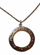 Xena Warrior Princess Chakram Metal w/Enamel Finish Necklace
